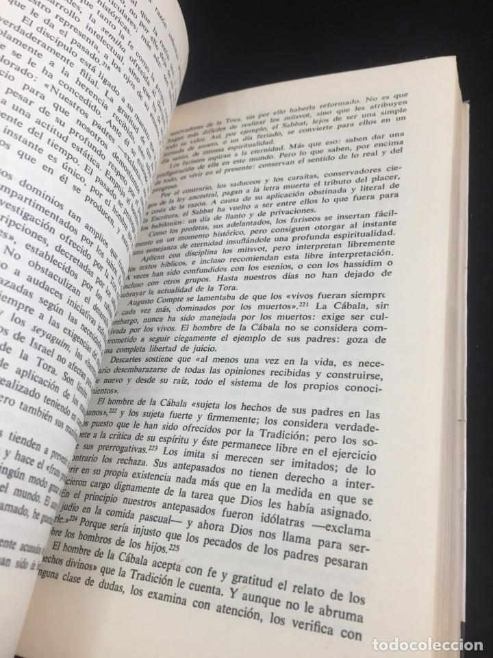 Libros de segunda mano: La Cábala de Alexandre Safran, La otra Ciencia, Martínez Roca. 1976 - Foto 8 - 254724550
