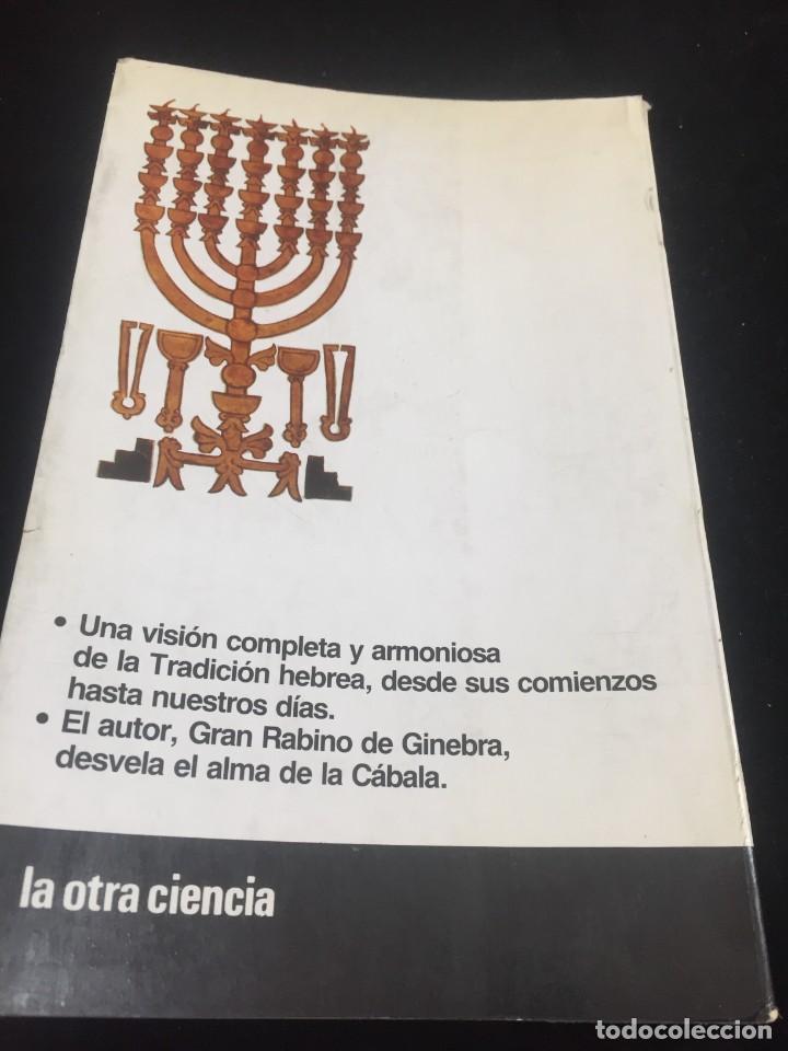 Libros de segunda mano: La Cábala de Alexandre Safran, La otra Ciencia, Martínez Roca. 1976 - Foto 12 - 254724550