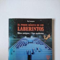 Libros de segunda mano: EL PODER MAGICO DE LOS LABERINTOS, SIG LONEGREN, MARTINEZ ROCA, 1993,150 PAGINAS, TAPA BLANDA. Lote 254736005