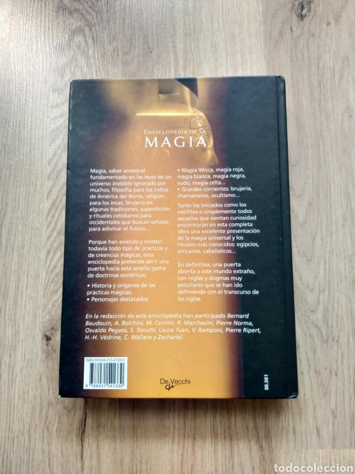 Libros de segunda mano: Enciclopedia de la Magia. Magia Blanca, magia negra,. Badouin. Bolchini. - Foto 3 - 254737810