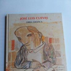 Libros de segunda mano: JOSÉ LUIS CUEVAS .OBRA GRÁFICA. MUSEO CASA DE LA MONEDA . GRABADOS. ARTE GRÁFICO. Lote 254807400