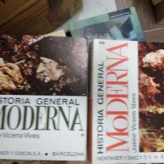 Libros de segunda mano: VICENS VIVES, JAIME: HISTORIA GENERAL MODERNA (2 VOLS,) (MONTANER Y SIMÓN). Lote 254807625