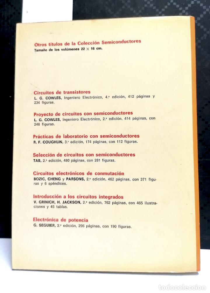 Libros de segunda mano: Introducción a los Circuitos Integrados.Grinich-Jackson.Editorial Gustavo Gili.1989. - Foto 3 - 254822895
