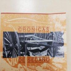Livres d'occasion: CRÓNICAS DE SECANO. ANTONIO MOLINA SANCHEZ. AYUNTAMIENTO DE CUEVAS DEL ALMANZORA. INSTITUTO DE ESTUD. Lote 254824695