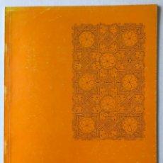 Libros de segunda mano: TECHUMBRES MUDÉJARES EN MALLORCA. - PALOU, JOANA MARIA I PLANTALAMOR, LUIS.. Lote 123226618