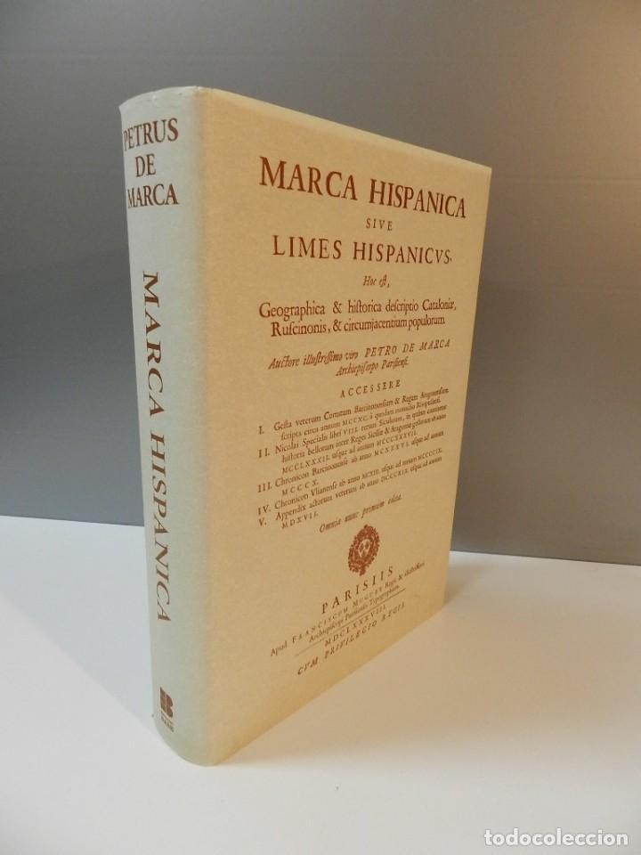 MARCA HISPANICA SIVE LIMES HISPANICUS PETRUS MARCA, FACSIMIL - HISTORIA DE CATALUNYA - COM A NOU (Libros de Segunda Mano - Historia - Otros)