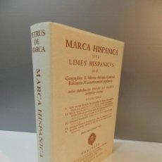 Libros de segunda mano: MARCA HISPANICA SIVE LIMES HISPANICUS PETRUS MARCA, FACSIMIL - HISTORIAL DE CATALUNYA - COM A NOU. Lote 254895715