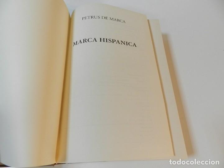 Libros de segunda mano: MARCA HISPANICA SIVE LIMES HISPANICUS PETRUS MARCA, FACSIMIL - HISTORIA DE CATALUNYA - COM A NOU - Foto 4 - 254895715