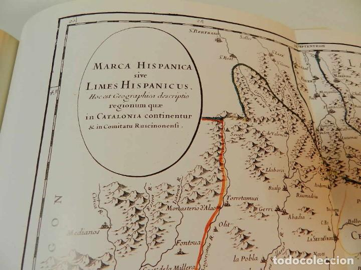 Libros de segunda mano: MARCA HISPANICA SIVE LIMES HISPANICUS PETRUS MARCA, FACSIMIL - HISTORIA DE CATALUNYA - COM A NOU - Foto 6 - 254895715