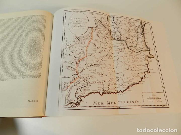 Libros de segunda mano: MARCA HISPANICA SIVE LIMES HISPANICUS PETRUS MARCA, FACSIMIL - HISTORIA DE CATALUNYA - COM A NOU - Foto 7 - 254895715