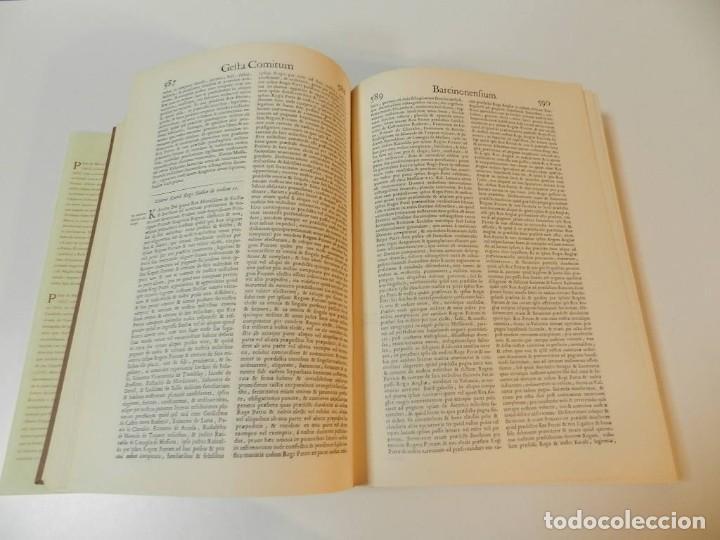Libros de segunda mano: MARCA HISPANICA SIVE LIMES HISPANICUS PETRUS MARCA, FACSIMIL - HISTORIA DE CATALUNYA - COM A NOU - Foto 12 - 254895715