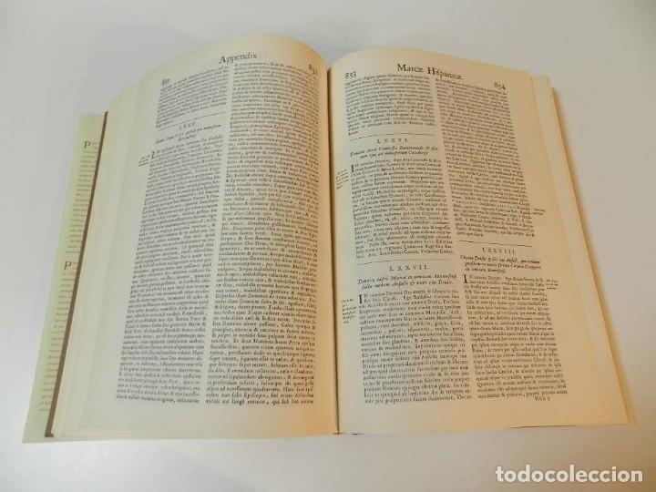 Libros de segunda mano: MARCA HISPANICA SIVE LIMES HISPANICUS PETRUS MARCA, FACSIMIL - HISTORIA DE CATALUNYA - COM A NOU - Foto 13 - 254895715