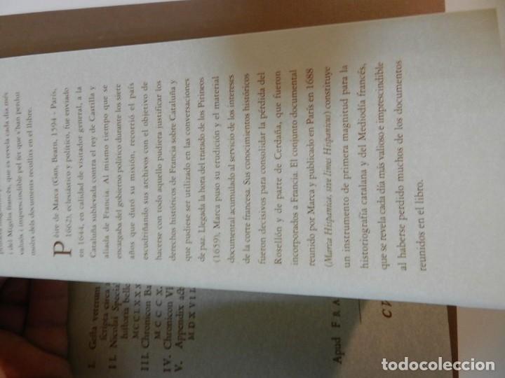 Libros de segunda mano: MARCA HISPANICA SIVE LIMES HISPANICUS PETRUS MARCA, FACSIMIL - HISTORIA DE CATALUNYA - COM A NOU - Foto 16 - 254895715