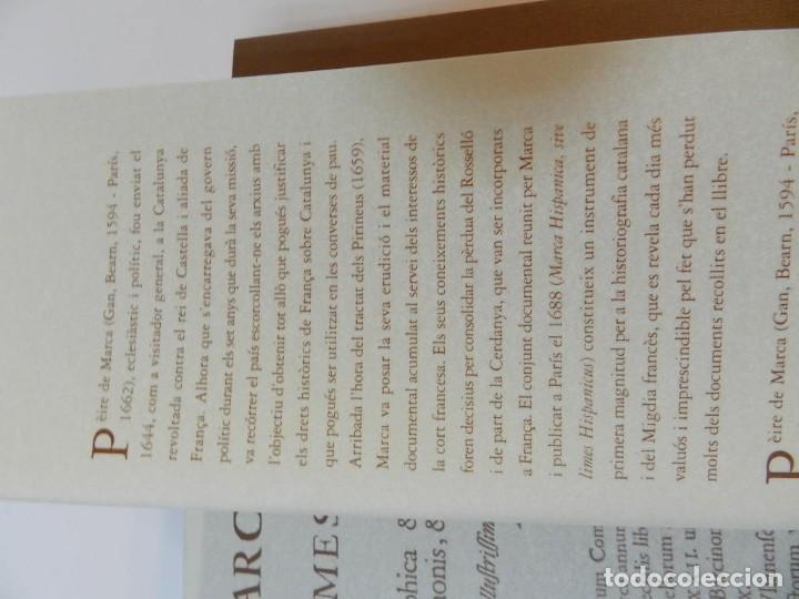 Libros de segunda mano: MARCA HISPANICA SIVE LIMES HISPANICUS PETRUS MARCA, FACSIMIL - HISTORIA DE CATALUNYA - COM A NOU - Foto 17 - 254895715