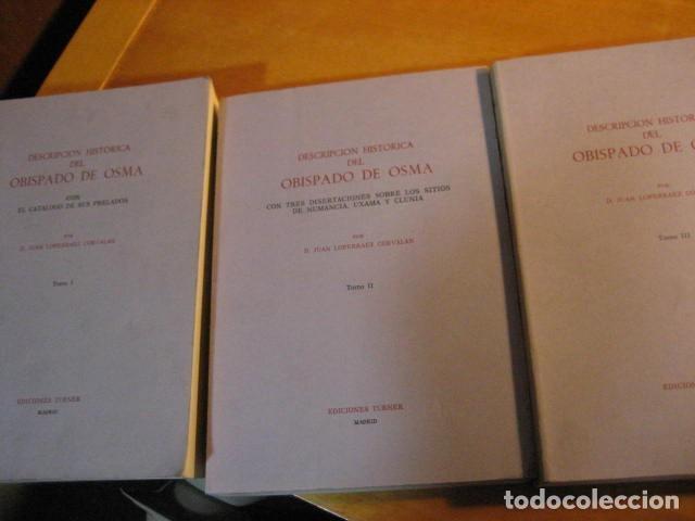 Libros de segunda mano: DESCRIPCION HISTORICA DEL OBISPADO DE OSMA ( JUAN LOPERRAEZ CORVALAN , 3 TOMOS ) - Foto 3 - 254897105