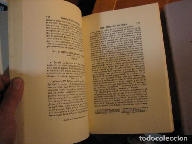 Libros de segunda mano: DESCRIPCION HISTORICA DEL OBISPADO DE OSMA ( JUAN LOPERRAEZ CORVALAN , 3 TOMOS ) - Foto 10 - 254897105