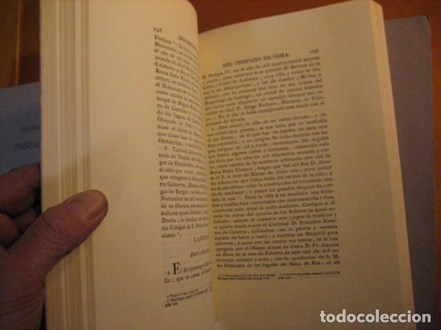 Libros de segunda mano: DESCRIPCION HISTORICA DEL OBISPADO DE OSMA ( JUAN LOPERRAEZ CORVALAN , 3 TOMOS ) - Foto 17 - 254897105