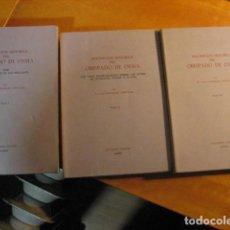 Libros de segunda mano: DESCRIPCION HISTORICA DEL OBISPADO DE OSMA ( JUAN LOPERRAEZ CORVALAN , 3 TOMOS ). Lote 254897105