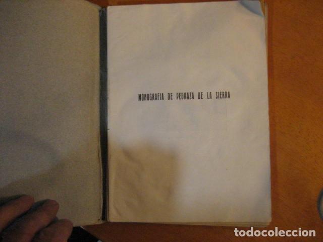 Libros de segunda mano: MONOGRAFIA DE PEDRAZA DE LA SIERRA POR TIMOTEO DE ANTONIO SEGOVIA 1951 OFERTA - Foto 5 - 254899105