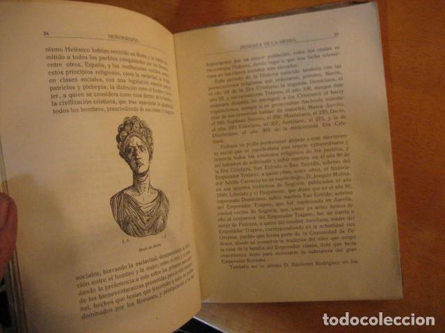 Libros de segunda mano: MONOGRAFIA DE PEDRAZA DE LA SIERRA POR TIMOTEO DE ANTONIO SEGOVIA 1951 OFERTA - Foto 8 - 254899105