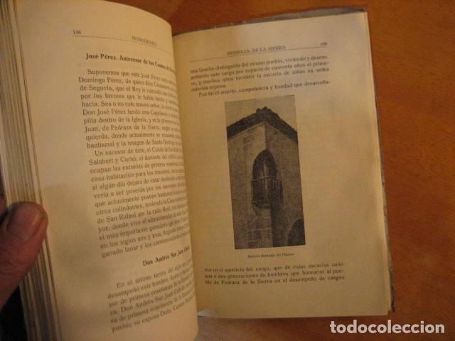 Libros de segunda mano: MONOGRAFIA DE PEDRAZA DE LA SIERRA POR TIMOTEO DE ANTONIO SEGOVIA 1951 OFERTA - Foto 9 - 254899105