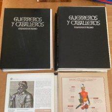 Libros de segunda mano: 7 TOMOS GUERREROS Y CABALLEROS , SOLDADOS DE PLOMO - COMPLETA - TAPAS + FASCICULOS SIN ENCUADERNAR. Lote 254907830