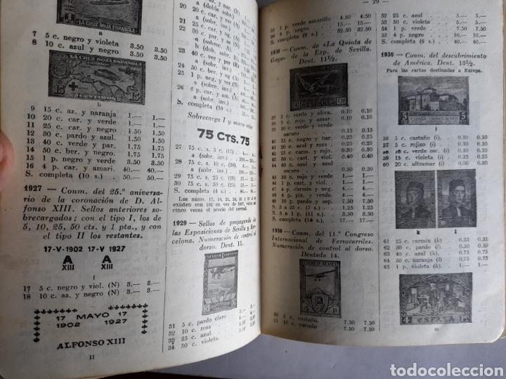 Libros de segunda mano: Catálogo Ilustrado SELLOS de ESPAÑA. Ricardo de Lama. Edición 1944 - Foto 3 - 254908570