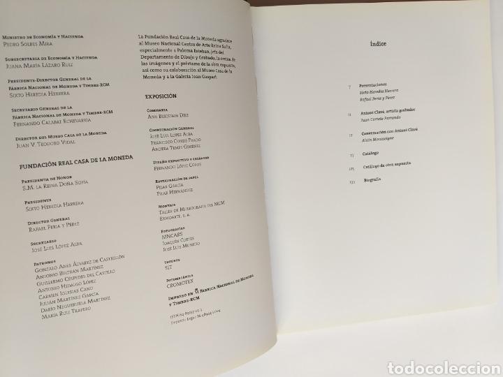 Libros de segunda mano: Clave Grabador.Museo Casa de la Moneda. Noviembre 2004 enero 2005 . Grabados arte gráfico - Foto 8 - 254913490