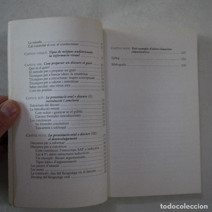 Libros de segunda mano: COM PARLAR BÉ EN PÚBLIC - JOANA RUBIO I FRANCESC PUIGPELAT - PÓRTIC - 2002 - EN CATALAN - Foto 4 - 254952100