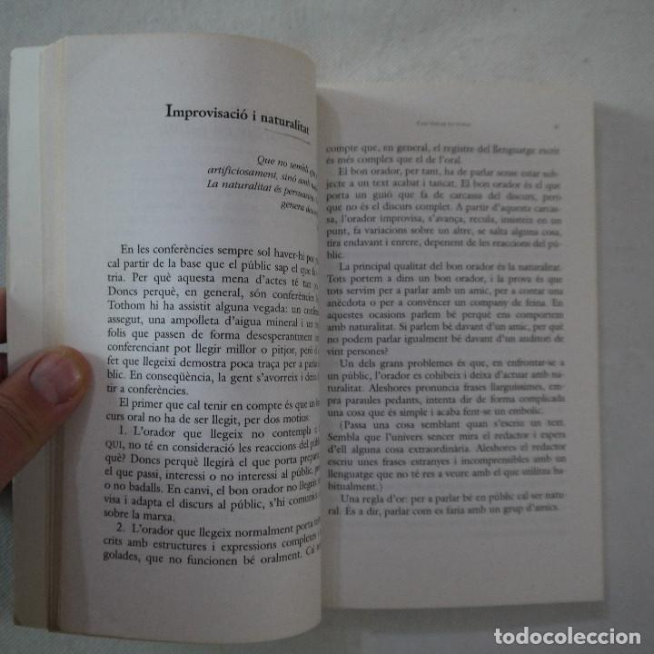 Libros de segunda mano: COM PARLAR BÉ EN PÚBLIC - JOANA RUBIO I FRANCESC PUIGPELAT - PÓRTIC - 2002 - EN CATALAN - Foto 5 - 254952100
