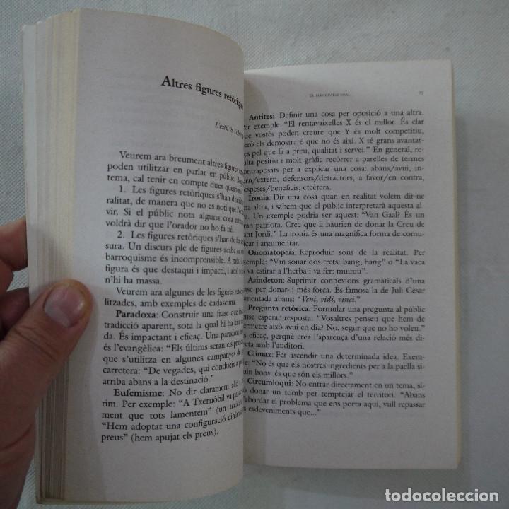 Libros de segunda mano: COM PARLAR BÉ EN PÚBLIC - JOANA RUBIO I FRANCESC PUIGPELAT - PÓRTIC - 2002 - EN CATALAN - Foto 6 - 254952100