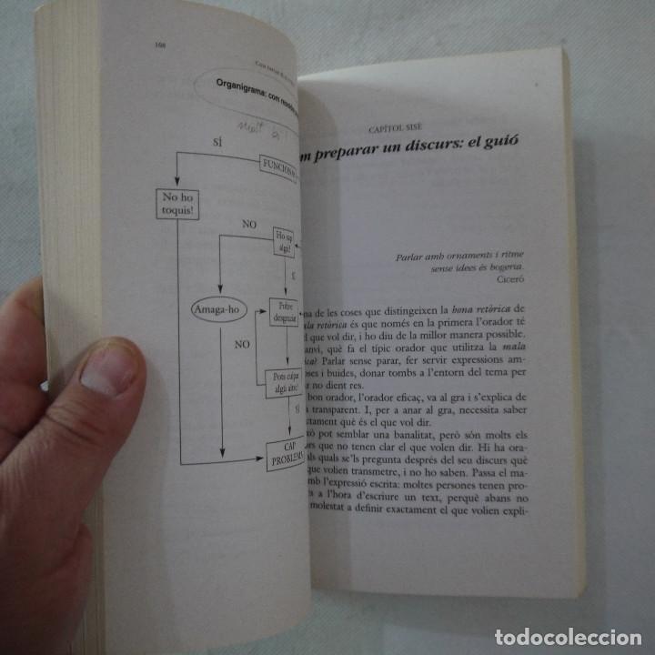 Libros de segunda mano: COM PARLAR BÉ EN PÚBLIC - JOANA RUBIO I FRANCESC PUIGPELAT - PÓRTIC - 2002 - EN CATALAN - Foto 7 - 254952100