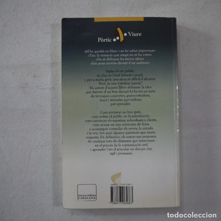 Libros de segunda mano: COM PARLAR BÉ EN PÚBLIC - JOANA RUBIO I FRANCESC PUIGPELAT - PÓRTIC - 2002 - EN CATALAN - Foto 8 - 254952100