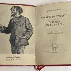 Libros de segunda mano: AÑO 1957 - TARTARÍN DE TARASCÓN Y TARTARÍN EN LOS ALPES POR ALPHNSE DAUDET - AGUILAR CRISOL 203. Lote 254982515