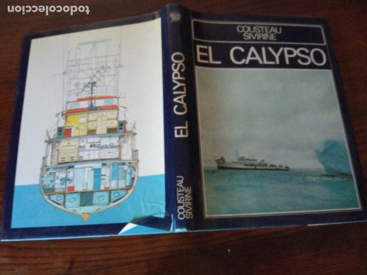 Libros de segunda mano: EL CALYPSO. COUSTEAU / SIVIRINE . MUNDO SUBMARINO. EDICIONES URBION, 1981. - Foto 2 - 255005945