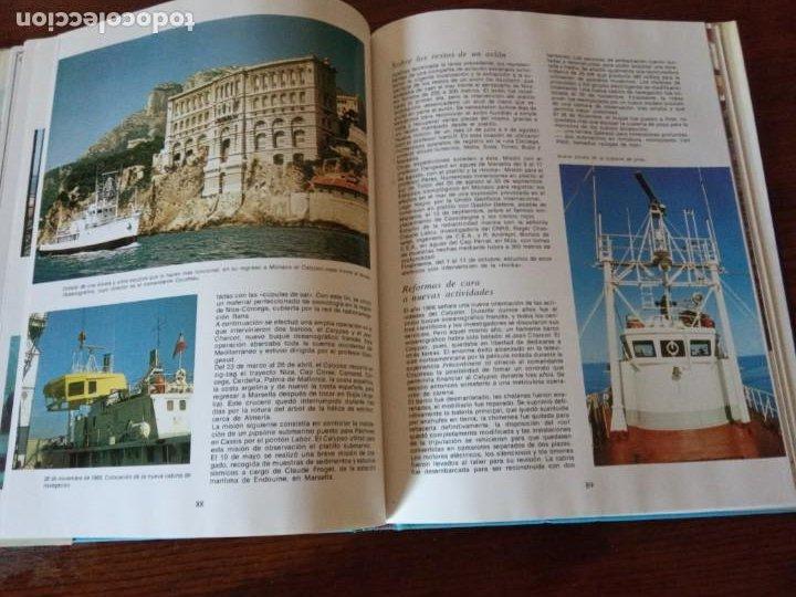 Libros de segunda mano: EL CALYPSO. COUSTEAU / SIVIRINE . MUNDO SUBMARINO. EDICIONES URBION, 1981. - Foto 5 - 255005945