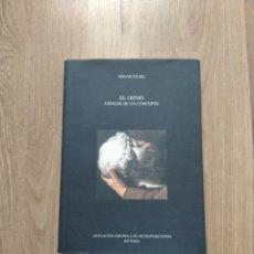 Libros de segunda mano: EL GENIO. GÉNESIS DE UN CONCEPTO. EDGAR ZILSEL.. Lote 255367730