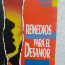 Libros de segunda mano: LIBRO : REMEDIOS PARA DLEL DESAMOR. Lote 255368670