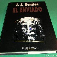 Libros de segunda mano: EL ENVIADO - J.J. BENÍTEZ (EN BUEN ESTADO) (2 SEGUIMIENTOS). Lote 255483690