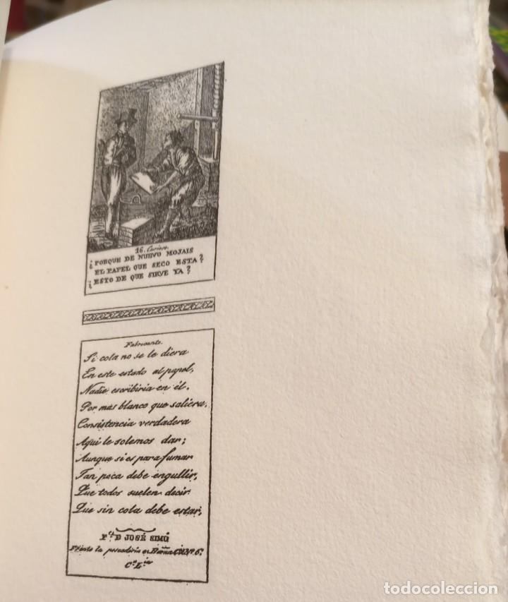 Libros de segunda mano: RARO 24 grabados PAPEL DE FUMAR - EL CURIOSO Y EL FABRICANTE - 1989 - CAPELLADES - LIMITADO - num. - Foto 3 - 255570305