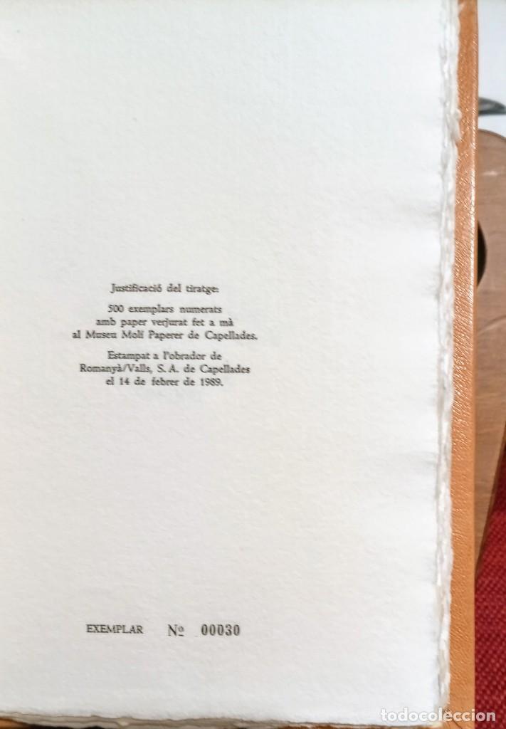 Libros de segunda mano: RARO 24 grabados PAPEL DE FUMAR - EL CURIOSO Y EL FABRICANTE - 1989 - CAPELLADES - LIMITADO - num. - Foto 10 - 255570305