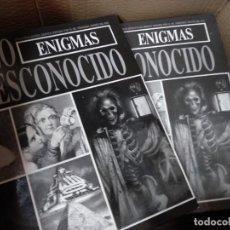Libros de segunda mano: LO DESCONOCIDO - ENIGMAS 2 TOMOS - JIMENEZ DEL OSO. Lote 255574535