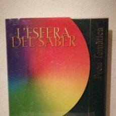 Libros de segunda mano: LIBRO - L'ESFERA DEL SABER ENCICLOPÈDIA - CATALANA - PROA TEMÀTICA 10. Lote 255670535