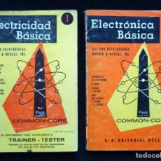Libros de segunda mano: ELECTRÓNICA BÁSICA. VAN VALKENBURGH. TOMOS 1 Y 2. ED. BELL, 1976. LEER. Lote 255674750