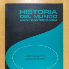 Libros de segunda mano: HISTORIA DEL MUNDO CONTEMPORANEO EDELVIVES / VICENTE PALACIO - LUIS ÁLVAREZ / EDELVIVES. 1978. Lote 255819495