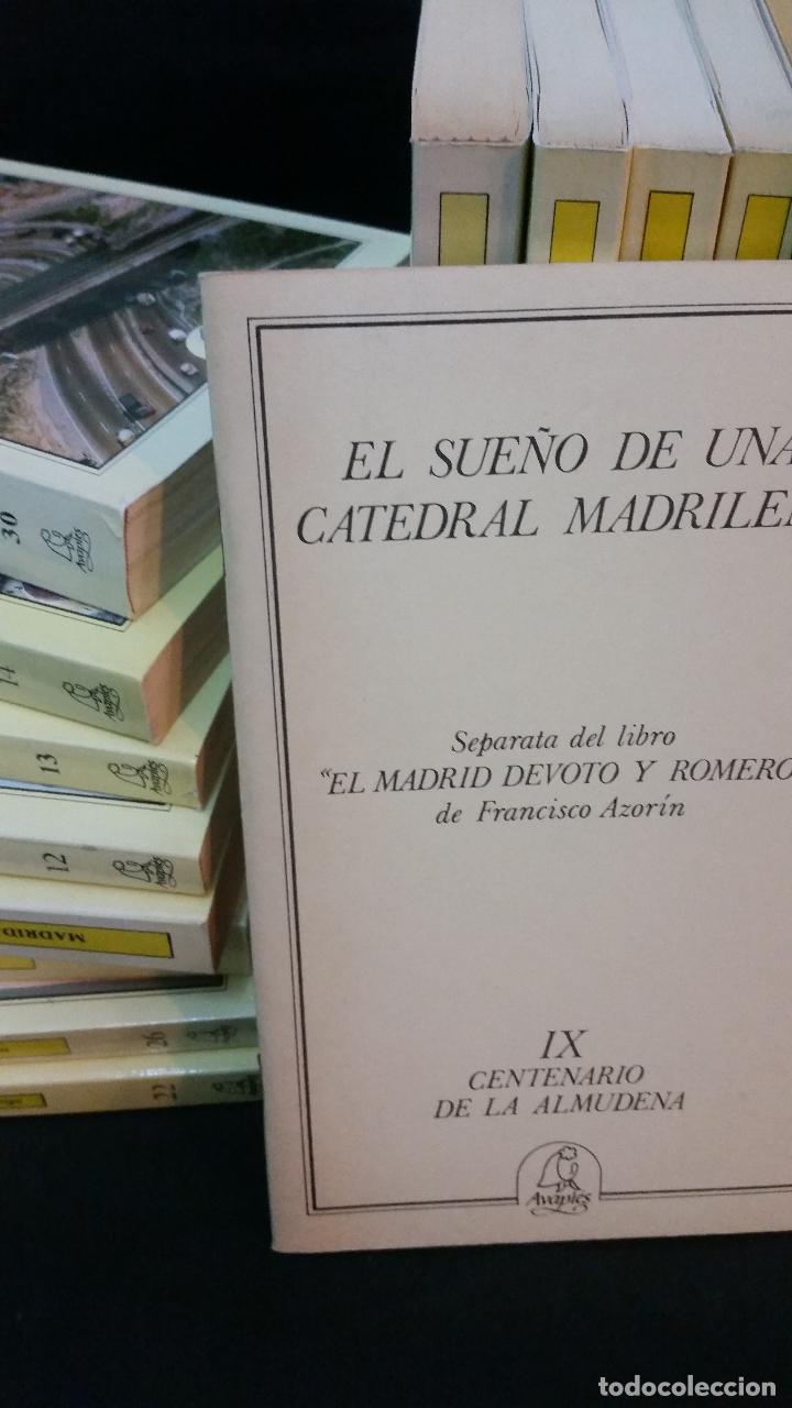 Libros de segunda mano: 1983 - 40 tomos de la colección Avapiés de temas madrileños: Madrid tremebundo, Plazas de toros, etc - Foto 2 - 255968940