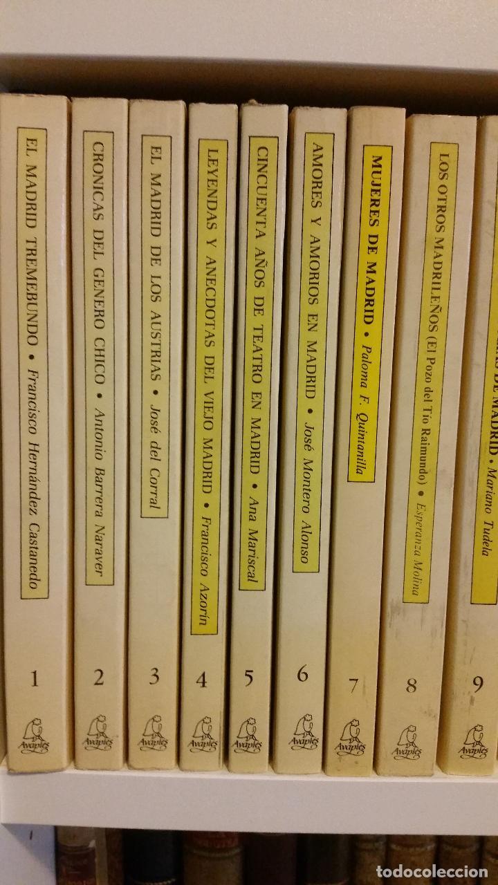 Libros de segunda mano: 1983 - 40 tomos de la colección Avapiés de temas madrileños: Madrid tremebundo, Plazas de toros, etc - Foto 4 - 255968940