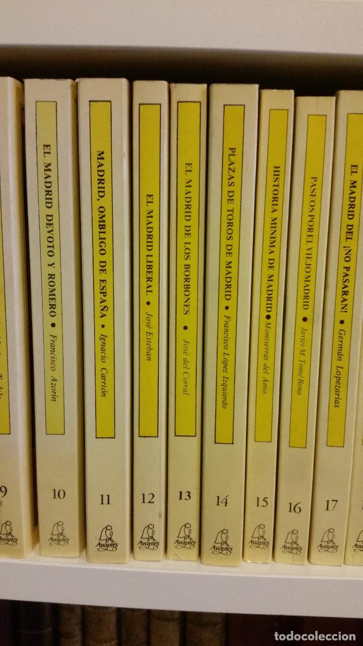 Libros de segunda mano: 1983 - 40 tomos de la colección Avapiés de temas madrileños: Madrid tremebundo, Plazas de toros, etc - Foto 5 - 255968940