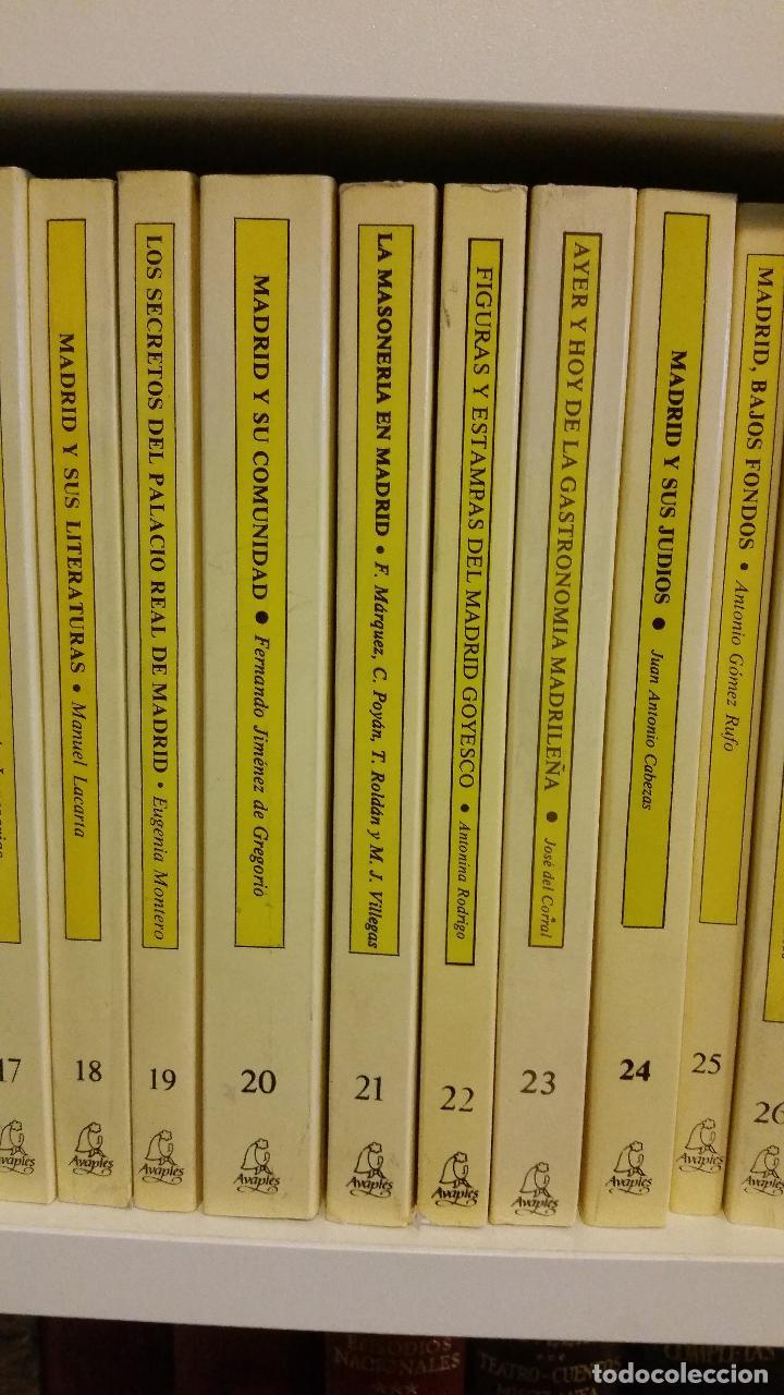 Libros de segunda mano: 1983 - 40 tomos de la colección Avapiés de temas madrileños: Madrid tremebundo, Plazas de toros, etc - Foto 6 - 255968940