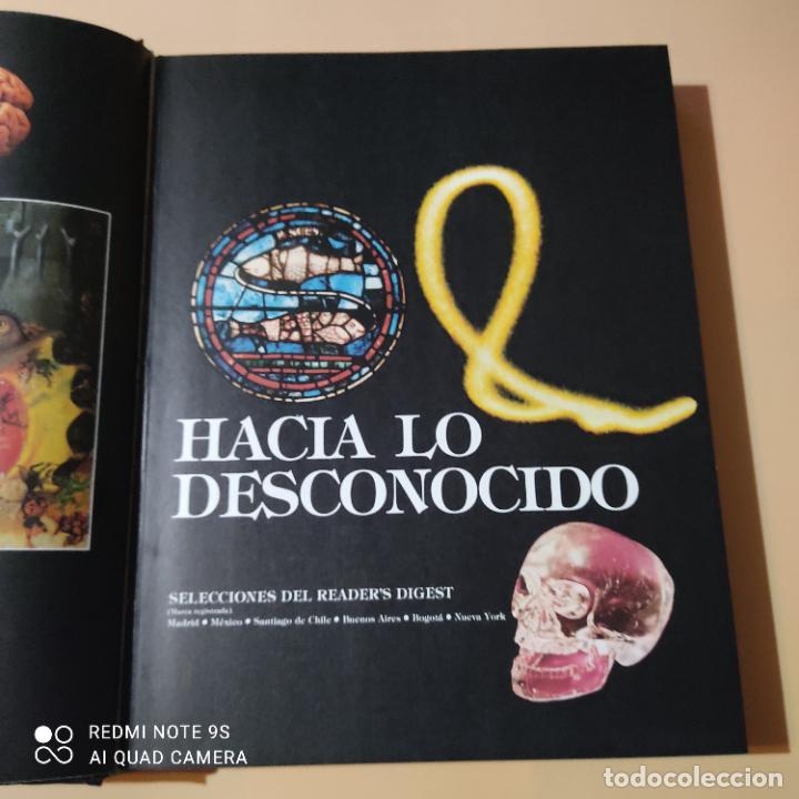 Libros de segunda mano: HACIA LO DESCONOCIDO. SELECCIONES DEL READERS DIGEST. 1982. PAGS. 352 - Foto 2 - 256078445